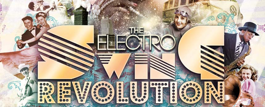Sa 29. April - Electro Swing Revolution Party mit DJ Louie Prima (bln)